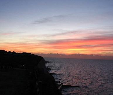 Local cliff top